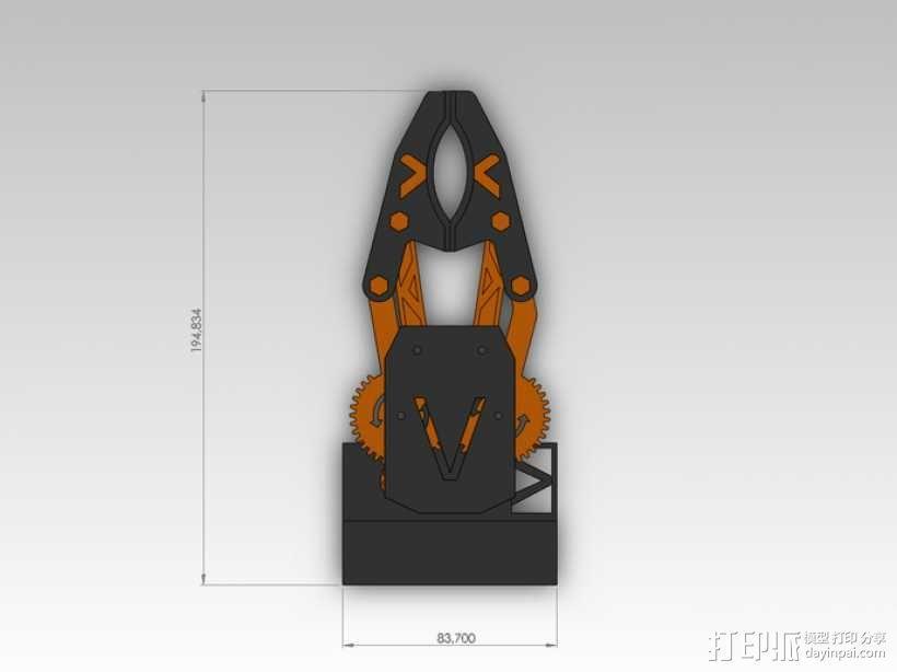 臂抓 3D模型  图10