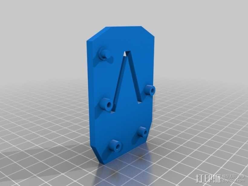 臂抓 3D模型  图12