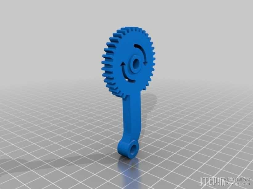 臂抓 3D模型  图16