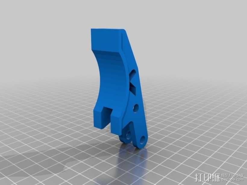 臂抓 3D模型  图14