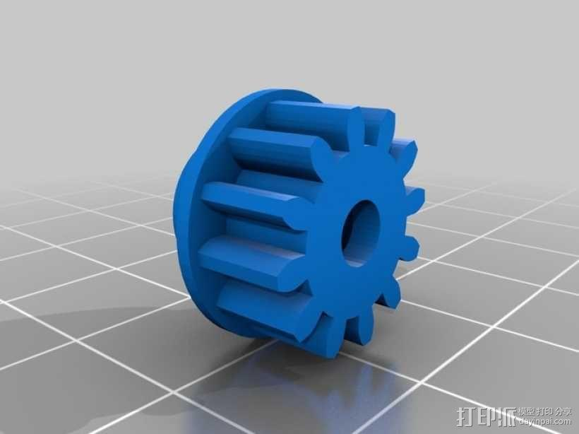 臂抓 3D模型  图15