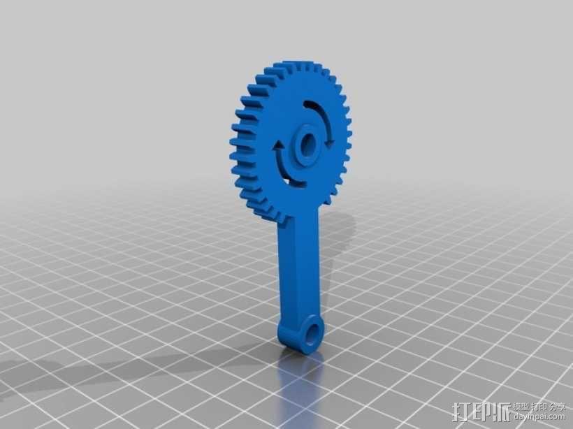 臂抓 3D模型  图17