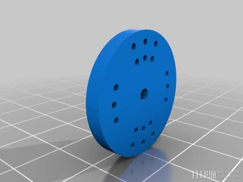 臂抓 3D模型  图18
