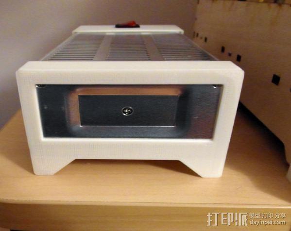 电力供应盒 3D模型  图2
