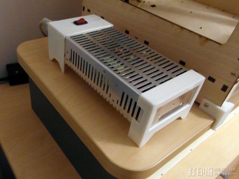 电力供应盒 3D模型  图1