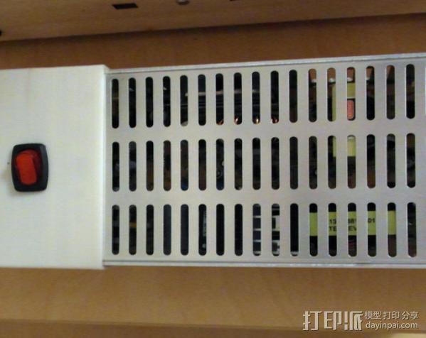 电力供应盒 3D模型  图3