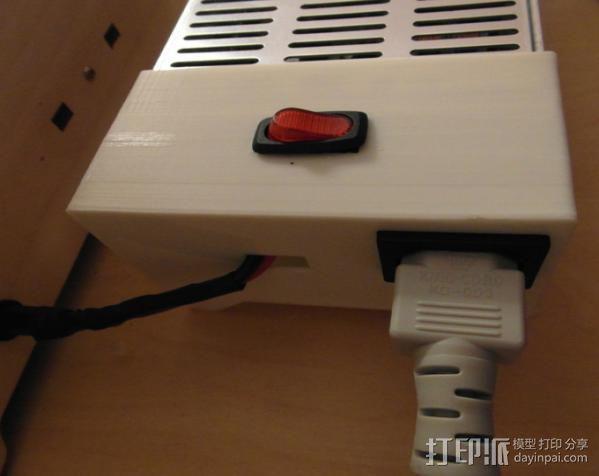 电力供应盒 3D模型  图4