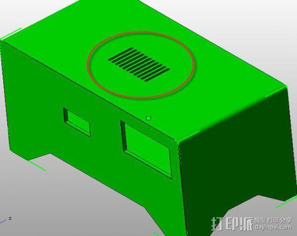 电力供应盒 3D模型  图7