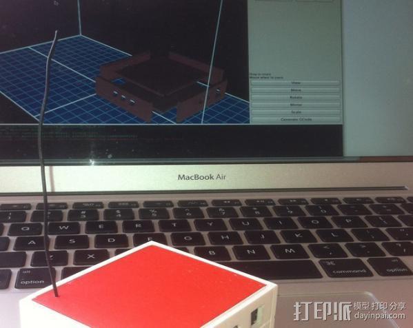 芯片围栏 3D模型  图2