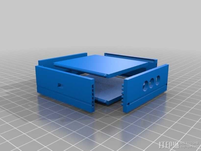 芯片围栏 3D模型  图1