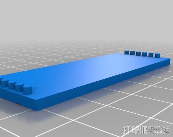 芯片围栏 3D模型  图6