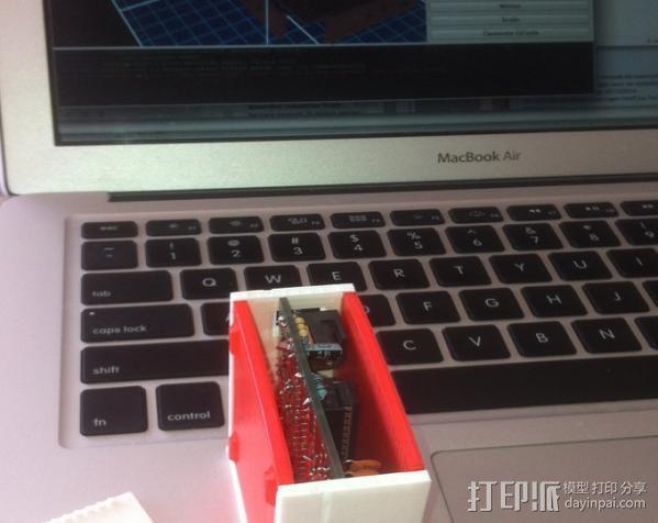 芯片围栏 3D模型  图5
