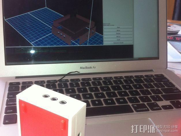 芯片围栏 3D模型  图3