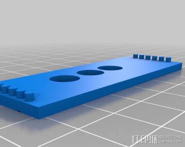 芯片围栏 3D模型  图7