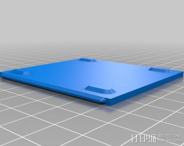 芯片围栏 3D模型  图9