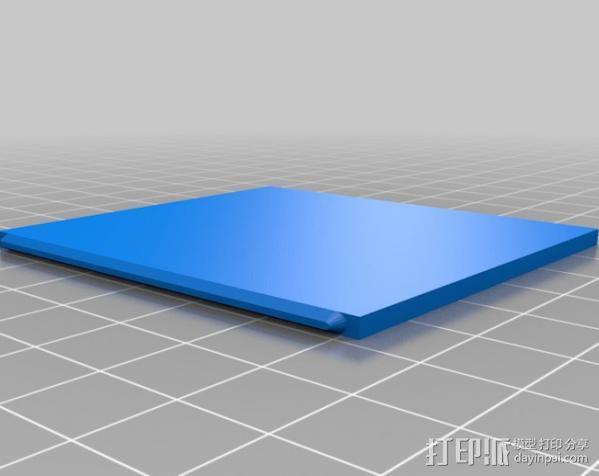 芯片围栏 3D模型  图8