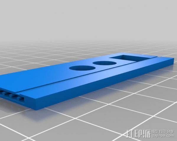 芯片围栏 3D模型  图10