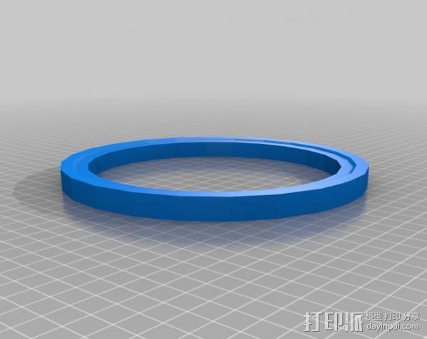 变速杆 3D模型  图3