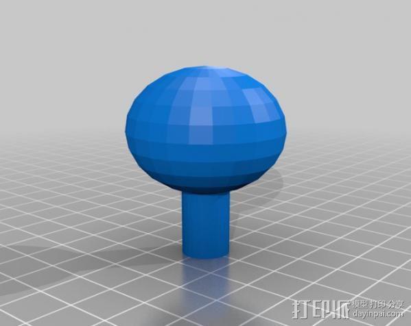 变速杆 3D模型  图6