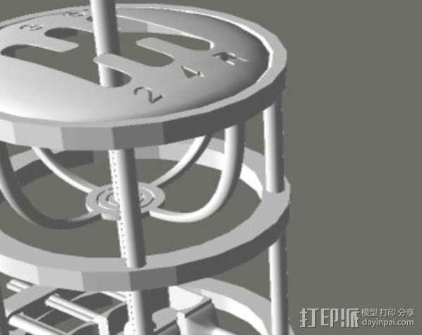 变速杆 3D模型  图5