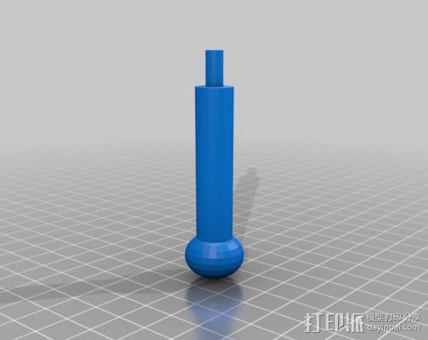 变速杆 3D模型  图9