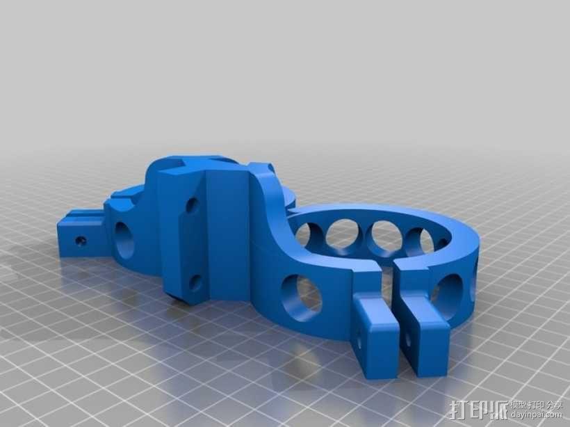 手动喷枪 3D模型  图3