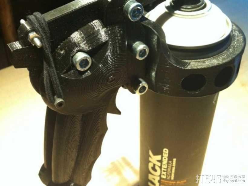 手动喷枪 3D模型  图1