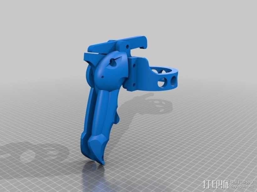 手动喷枪 3D模型  图5