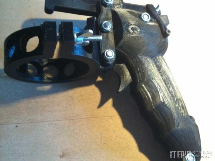 手动喷枪 3D模型  图4
