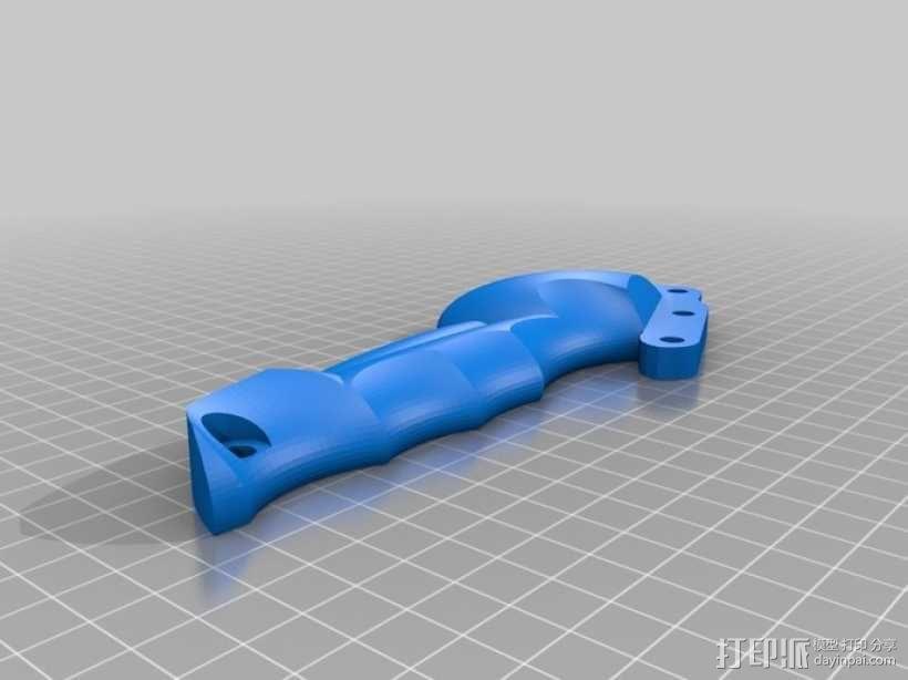 手动喷枪 3D模型  图6