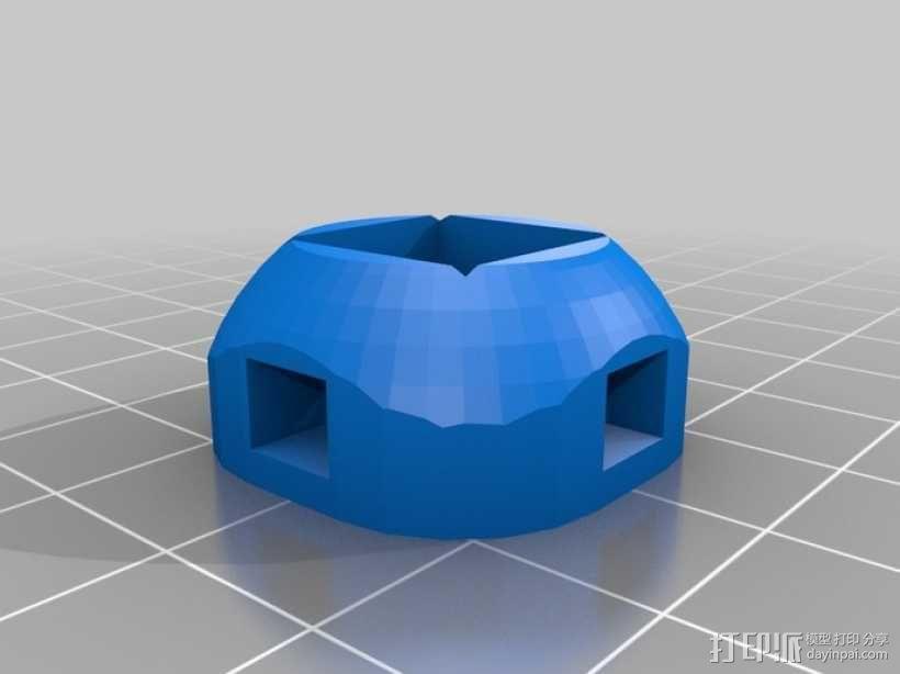 Vector-9000,一个快速线条跟踪机器人 3D模型  图15
