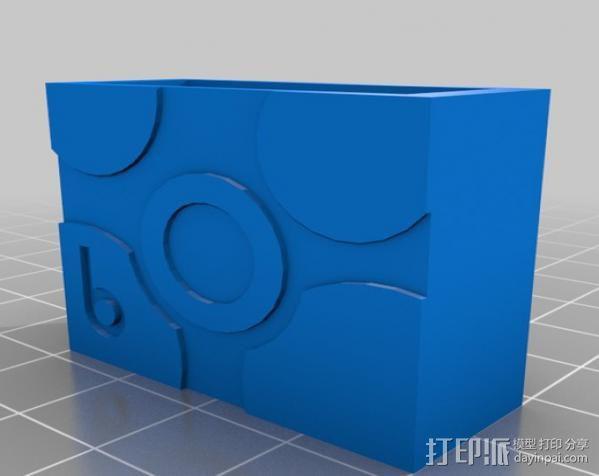 电气盒 3D模型  图1