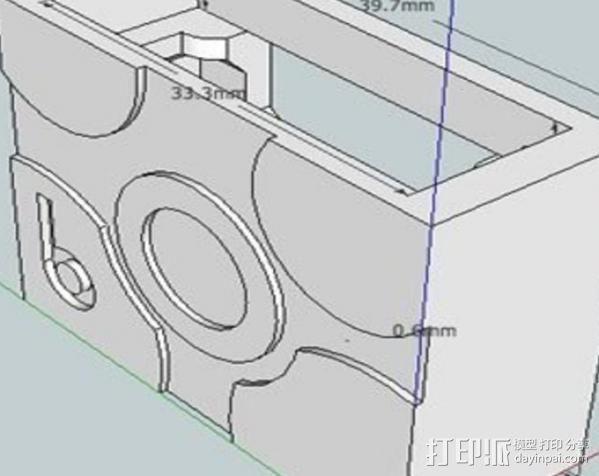 电气盒 3D模型  图3