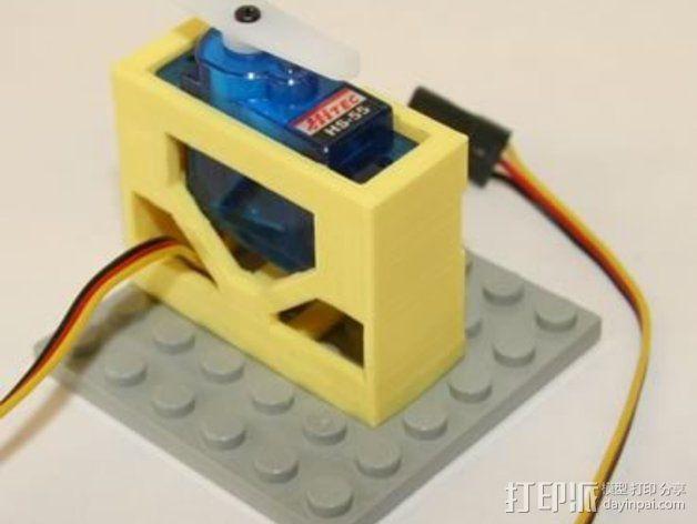 电气盒 3D模型  图4