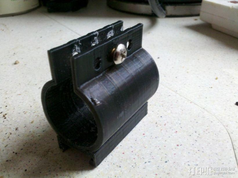 手电筒车架 3D模型  图4