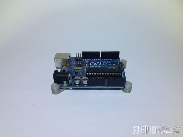 芯片固定架 3D模型  图1