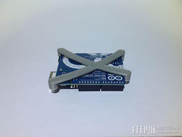 芯片固定架 3D模型  图4