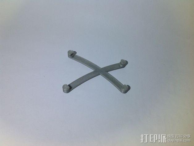 芯片固定架 3D模型  图6