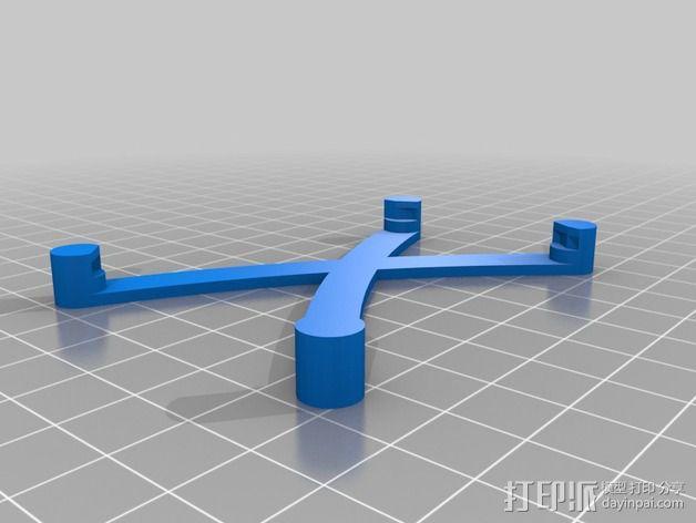 芯片固定架 3D模型  图8
