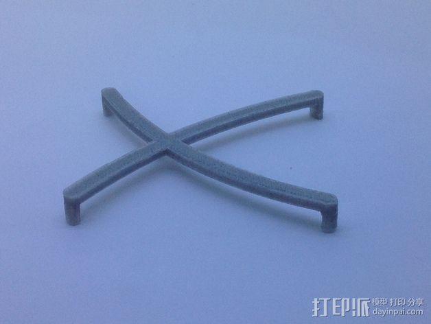 芯片固定架 3D模型  图12