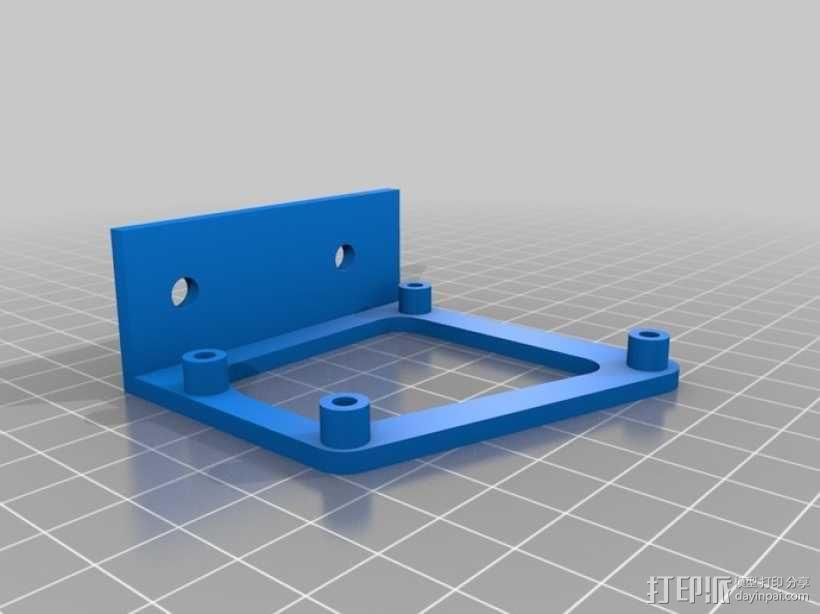 微型控制器 3D模型  图1