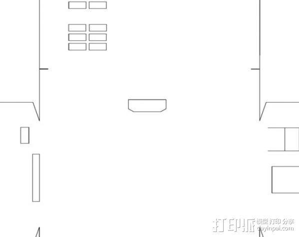 PI盒子 3D模型  图4