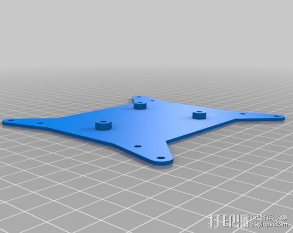 VESA适配器 3D模型  图1