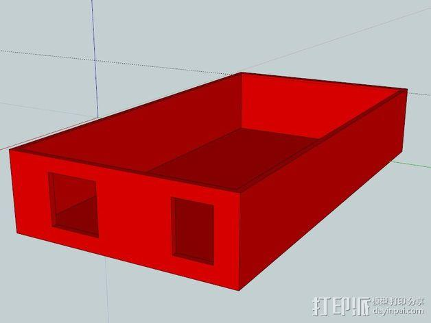 置物盒 3D模型  图1