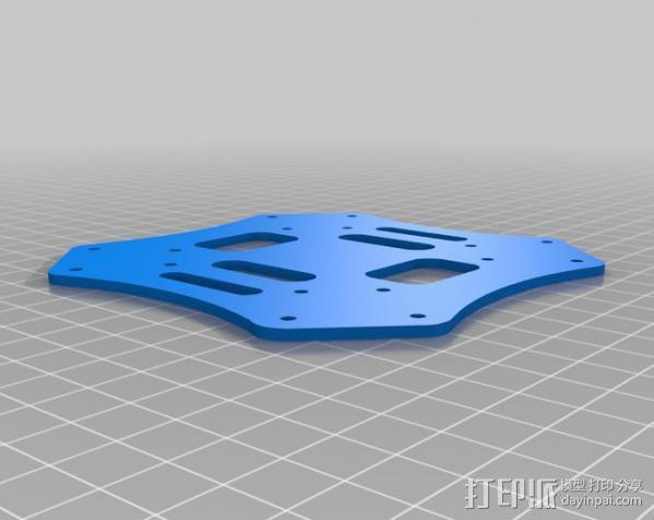 顶板 3D模型  图1