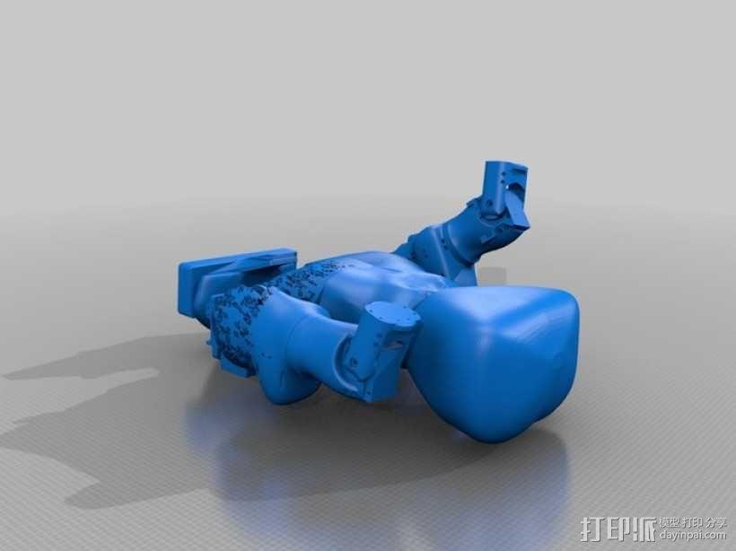 人形机器人 3D模型  图2