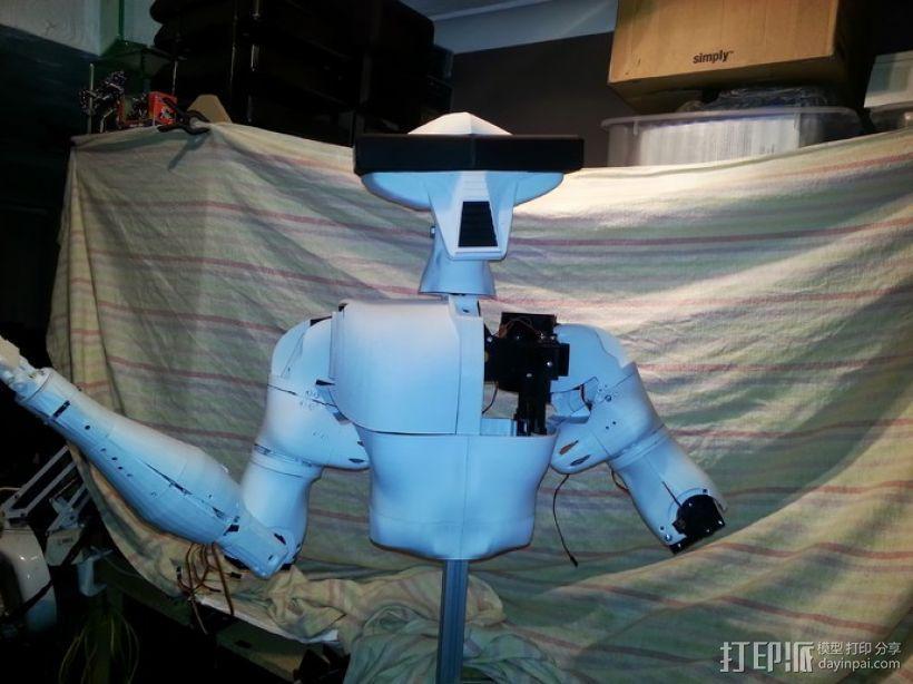 人形机器人 3D模型  图1