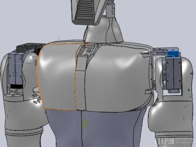 人形机器人 3D模型  图3