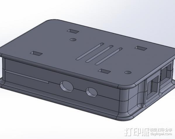盖子 3D模型  图5