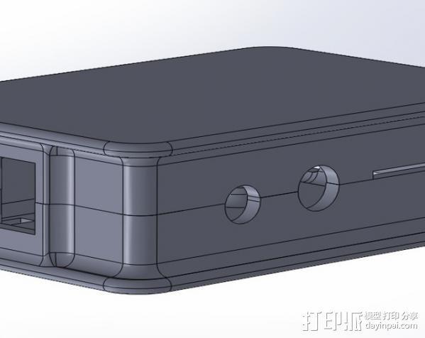 盖子 3D模型  图4